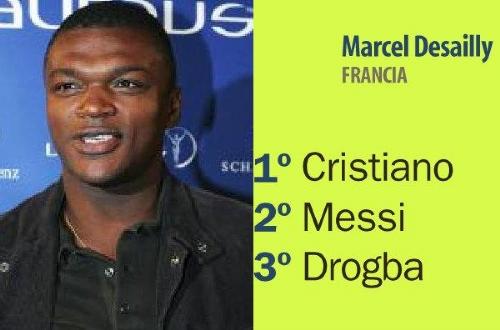 26-德塞利   德塞利(前法国国脚)   1、C罗 2、梅西 3、德...