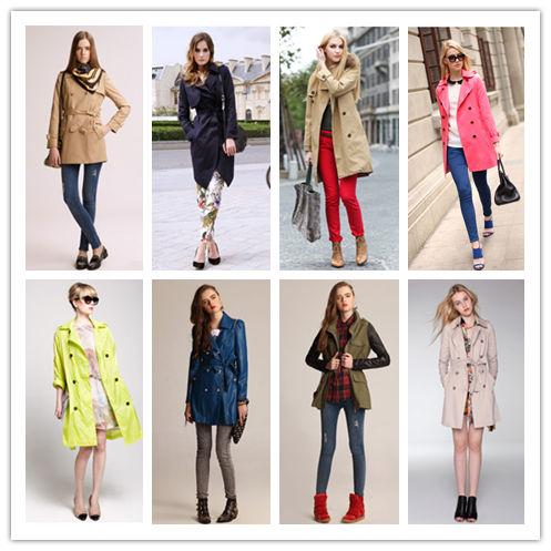 干练优雅风衣外套 尽显女性高姿态