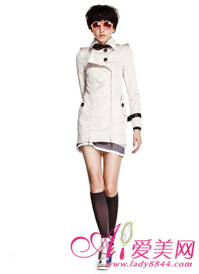 2013春装风衣 时尚女装首选款