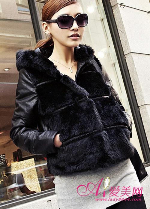 时尚女式棉衣外套 潮流温度两手抓