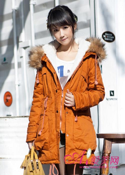 女装棉衣中长款 轻松应对下雪天