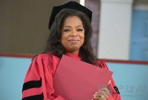 奥普拉哈佛毕业典礼演讲