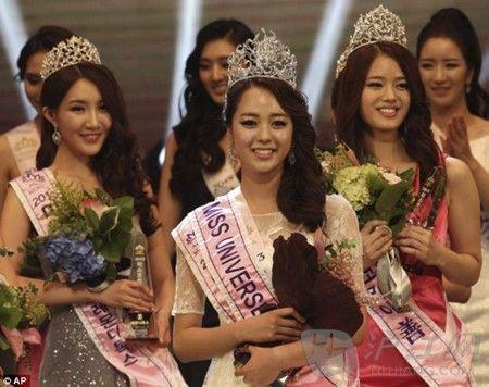 2013韩国小姐决赛佳丽们撞脸(组图)