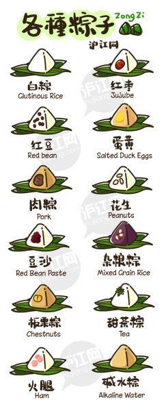 端午节粽子用英语怎么说?(图)