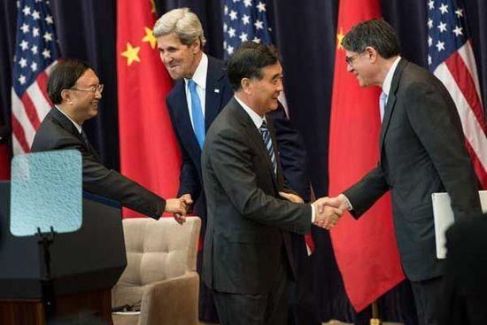 杨洁篪:中美可建立更加密切的合作关系