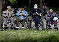 代看望老人服务在淘宝开卖(双语)