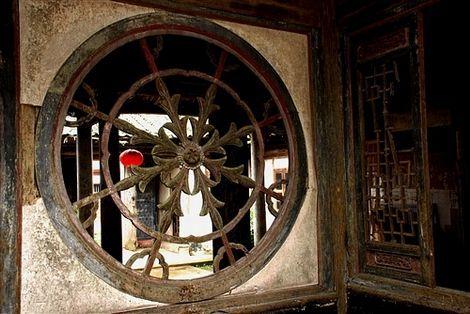 """黎川洲湖船屋""""黄氏宗祠""""内的八箭向心舵窗与""""天地会""""有密切联系"""