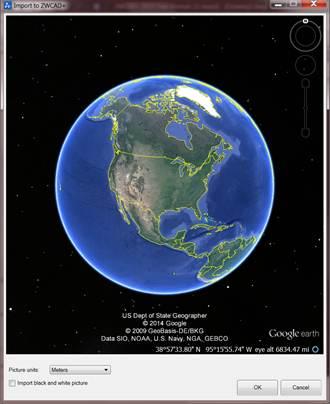 015中出现的谷歌地球-CAD评测 中望CAD 2015新功能提升绘图设计