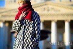 厚厚的围巾才温暖